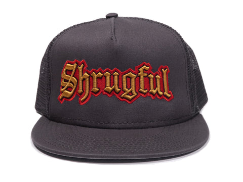 Shrugful Cap for fans of the Shrug Emoticon