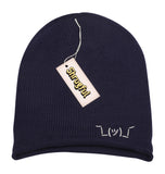 The Shrugful™ Slouchy Soft Knit Beanie (Navy)