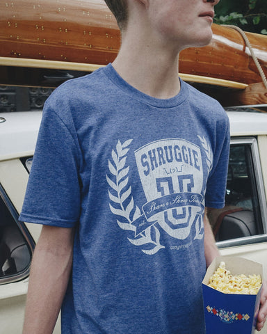 The Shruggie University Men's Tee