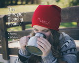 The Shrugful™ Slouchy Soft Knit Beanie (Red)