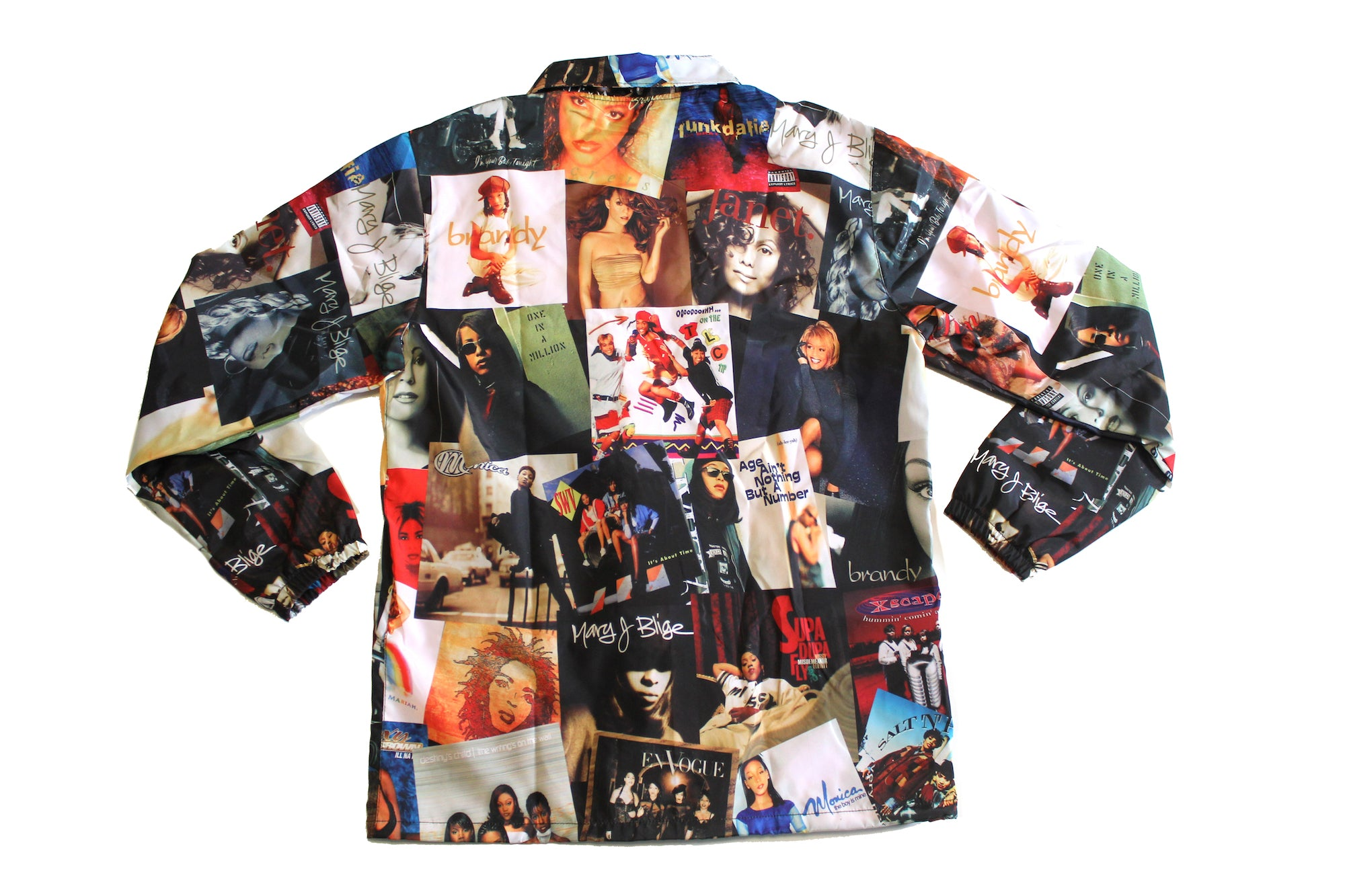 "The ""90's Girl"" Men's Coaches Jacket"