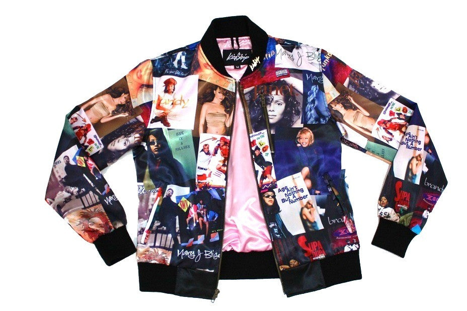 "The ""90's Girl"" Mens Bomber"