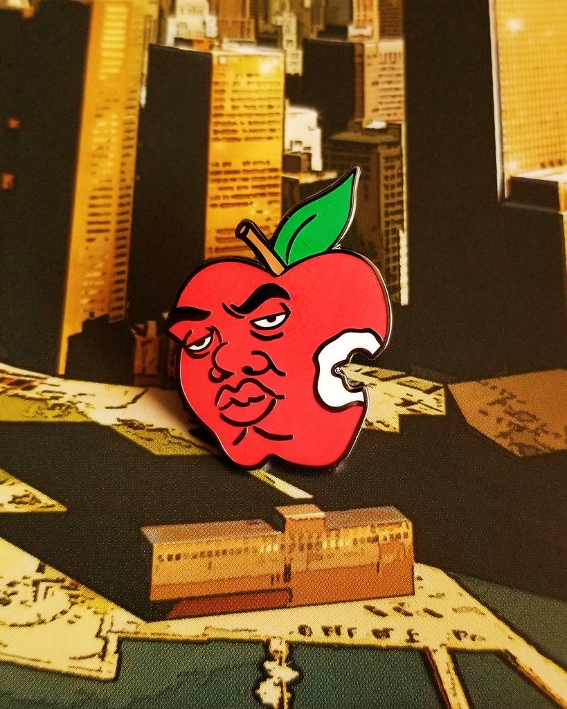 BIG Apple Pin