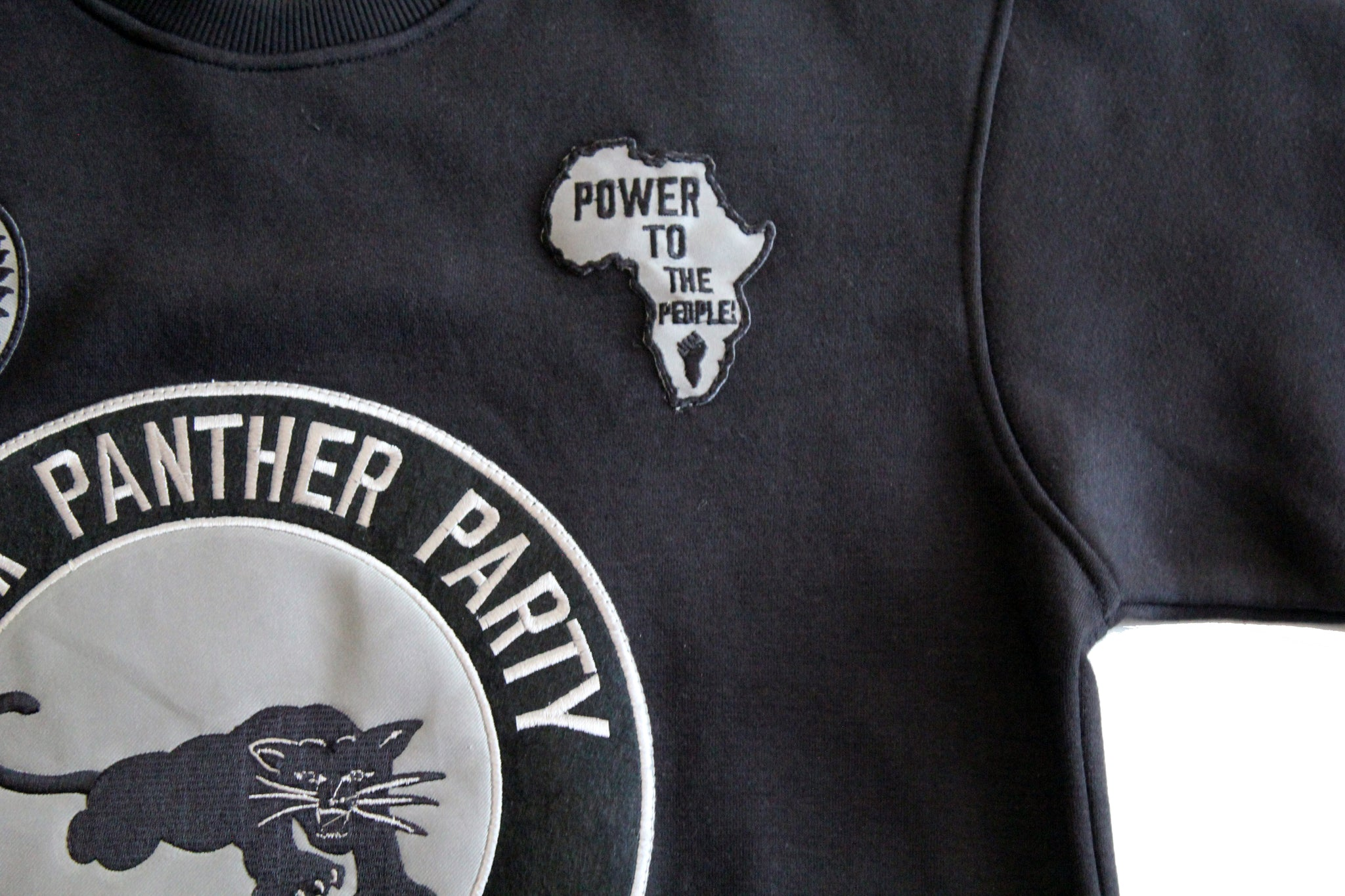 Black Panther Hockey Sweatshirt in Black w/ 3M