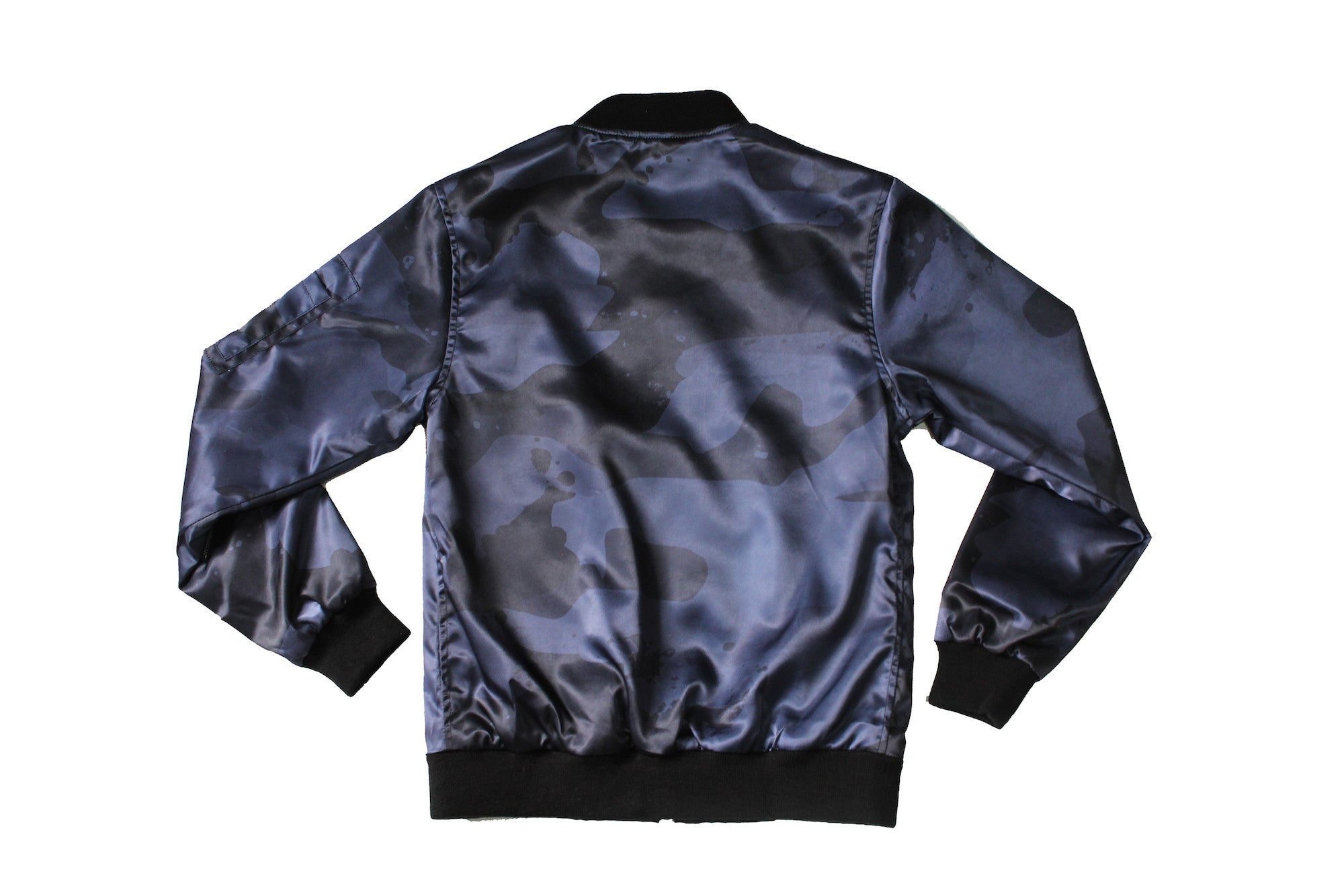 Splatter Camo Bomber in Dark Night