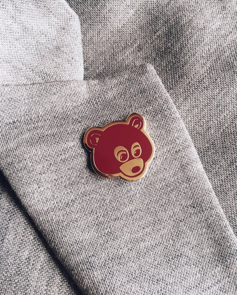 Late Registration Bear Pin