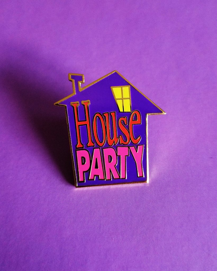 Raise the Roof Pin