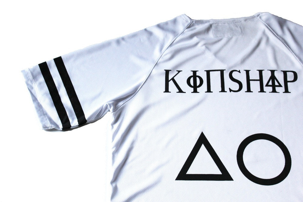 Kinship Team Jersey in White