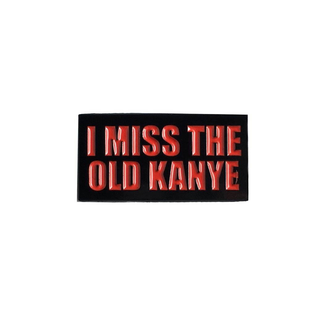 Old/New Kanye Pin Set