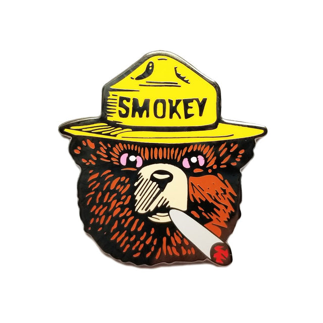 Smoked Out Pin
