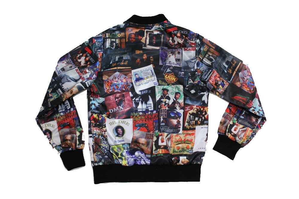"The ""Bomb"" 90's Hip Hop Bomber"
