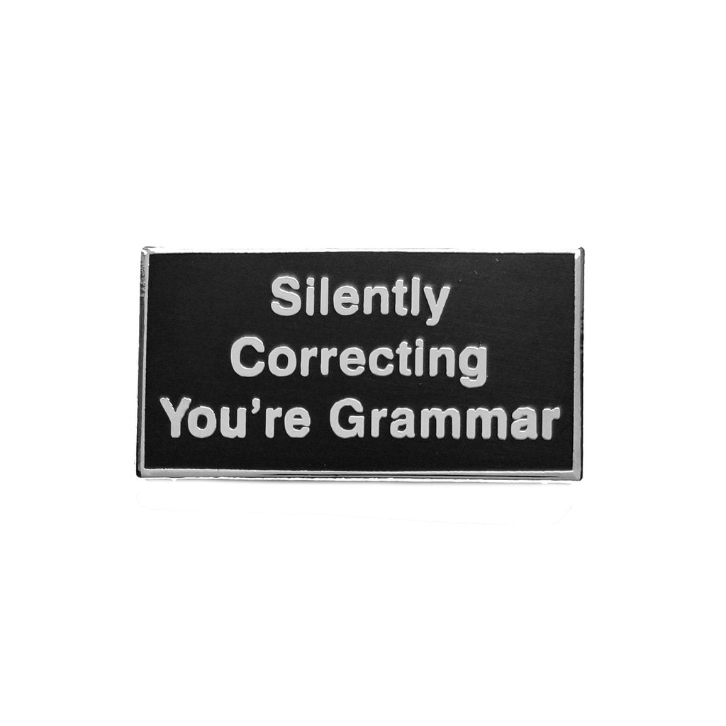 You're Grammar Pin