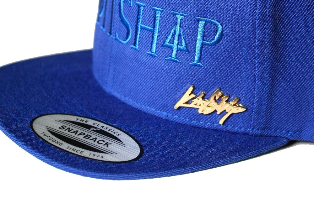 Kinship Greek Snapback in Blue