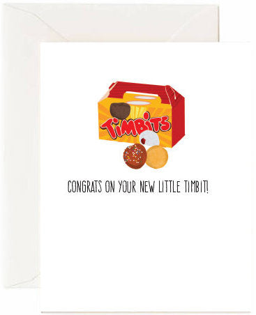 Little Timbit Greeting Card