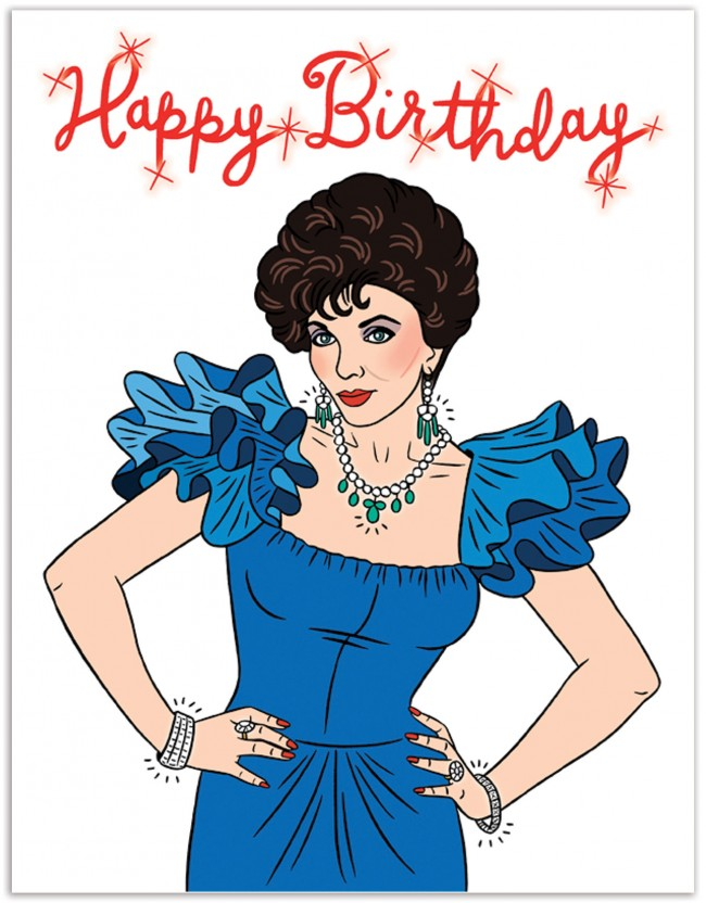 Dynasty Happy Birthday Greeting Card