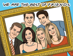 Best of FRIENDS - The Found Greeting Card - Ottawa, Canada