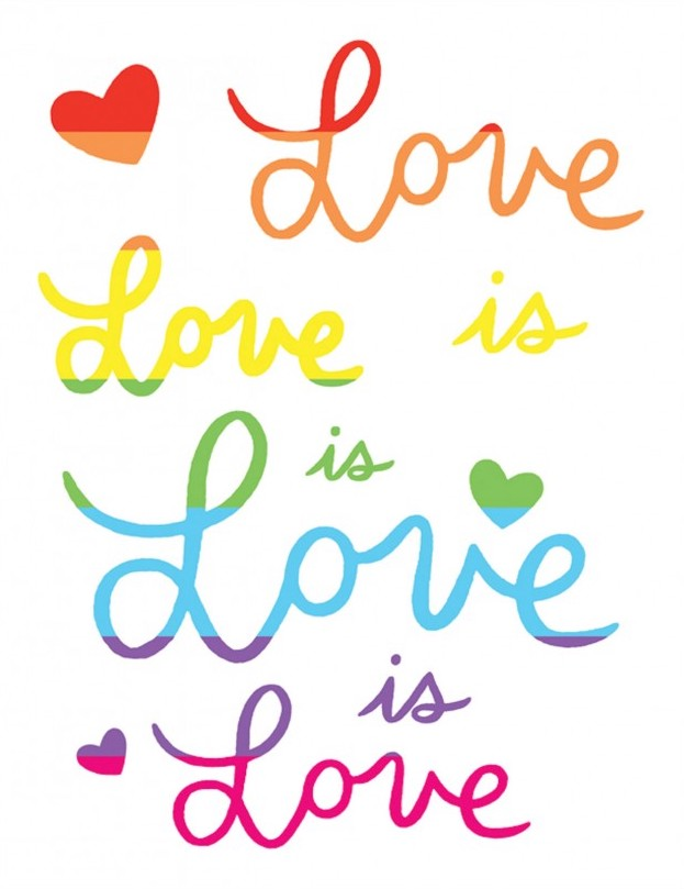 Love Is Love - The Found Greeting Card - Ottawa, Canada