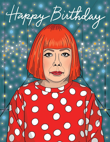 Yayoi Kusama - The Found Greeting Card - Ottawa, Canada
