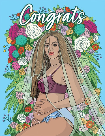 New Bey-B Greeting Card