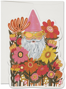 Radical Gnomes - Red Cap Greeting Card - Ottawa, Canada