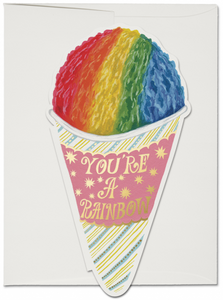 Snow Cone - Red Cap Greeting Card - Ottawa, Canada