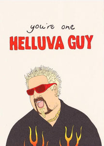 Helluva Guy - Fineasslines Greeting Card - Ottawa, Canada