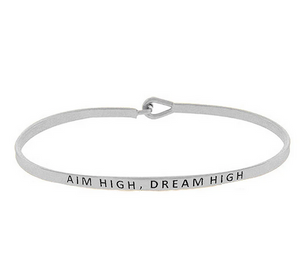 Aim High, Dream High Bracelet
