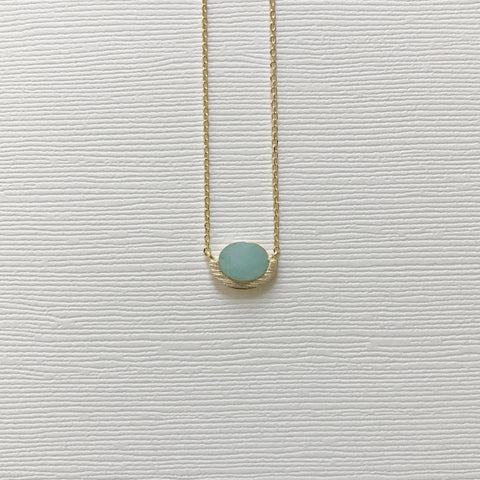 Arc Stone Necklace