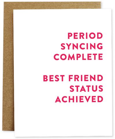 Best Friend Status Greeting Card