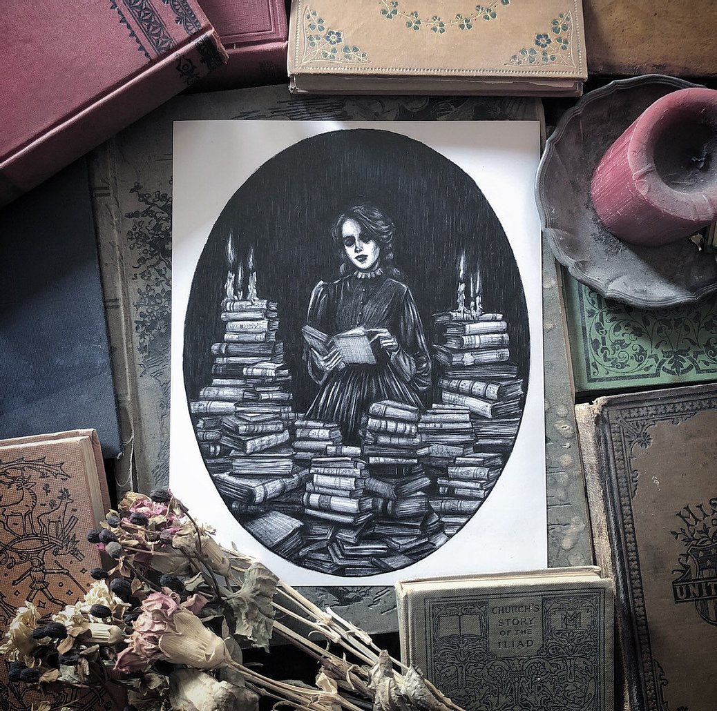Bury Me in Books Print