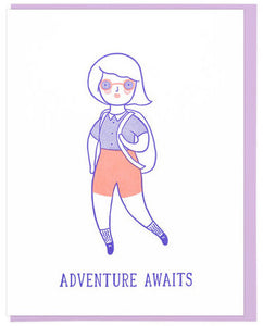 Adventure Awaits - Lucky Horse Press Greeting Card - Ottawa, Canada