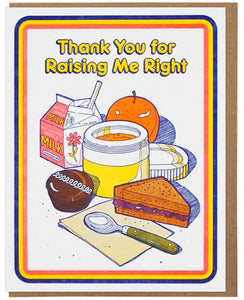 Raising Me Right - Lucky Horse Press Greeting Card - Ottawa, Canada