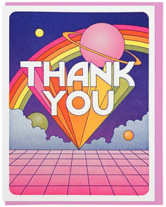 Thank You Universe - Lucky Horse Press Greeting Card - Ottawa, Canada