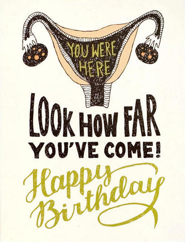 How Far You've Come Greeting Card