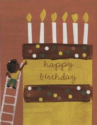 Layer Cake Greeting Card