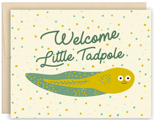 Cute Tadpole Greeting Card