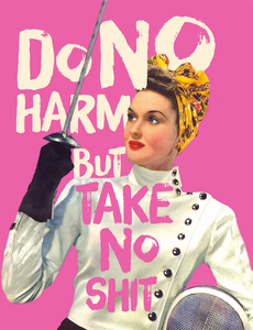 Do No Harm Greeting Card