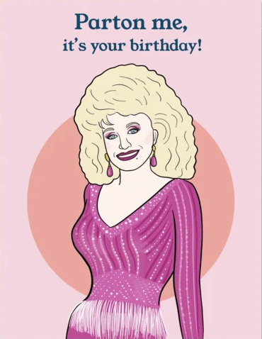 Dolly Birthday Greeting Card