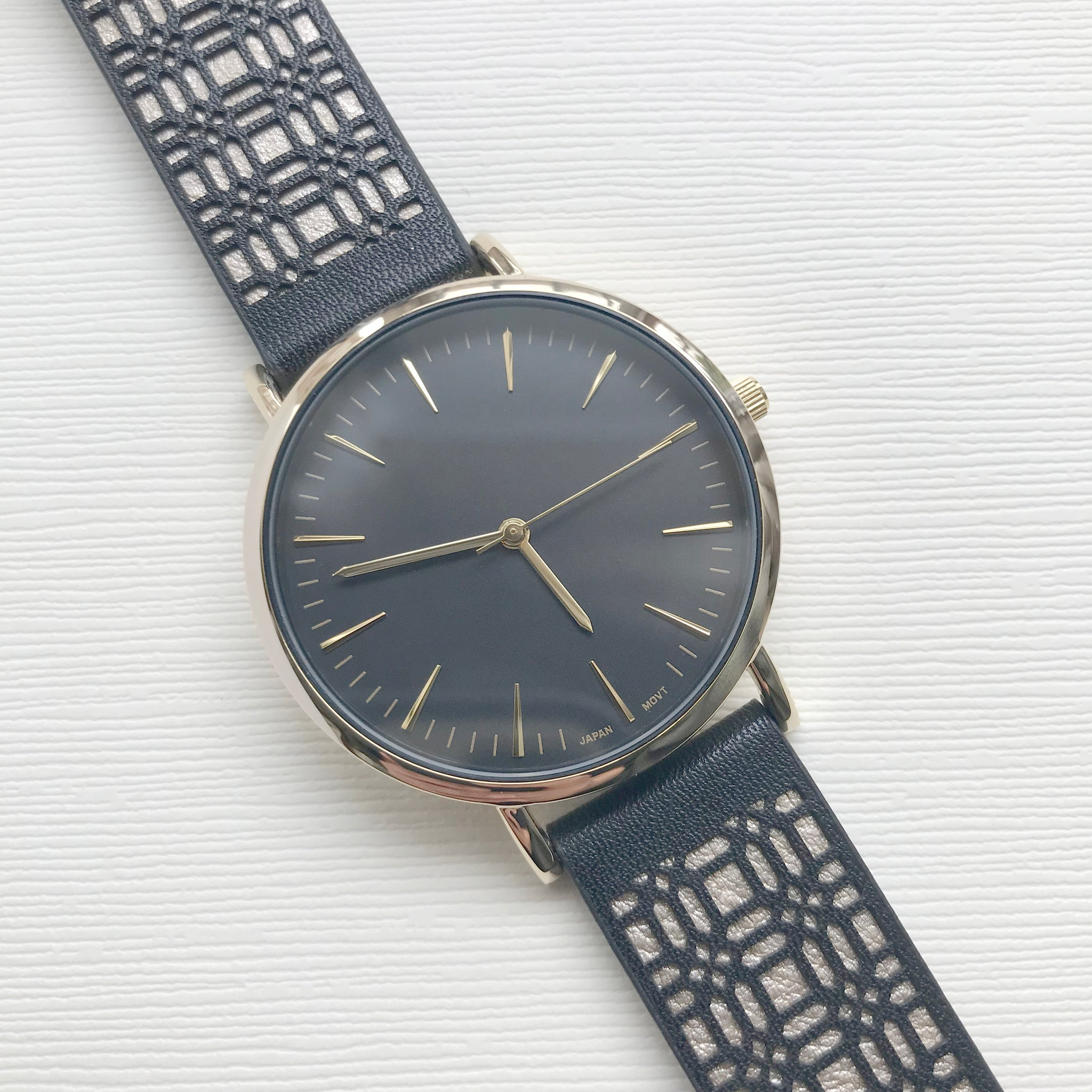 Gatsby Watch Black - Milk - Ottawa Clothing & Accessories Shop