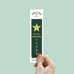 Gave Zero F**ks - Award Ribbon