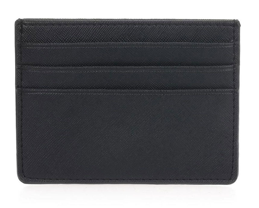 Single Sided Card Holder - Black