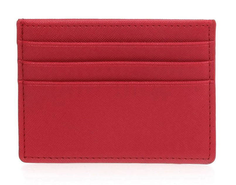 Single Sided Card Holder - Red