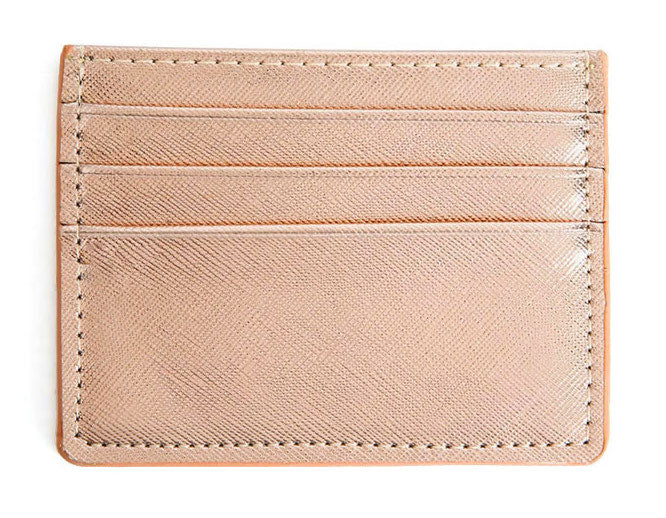 Single Sided Card Holder - Rose Gold