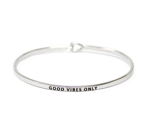 Good Vibes Only Bracelet