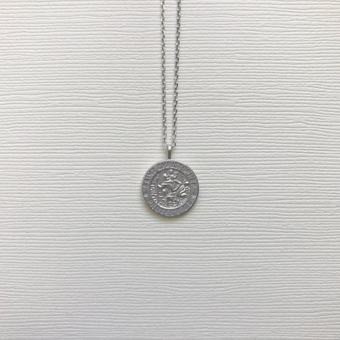 Protect Us Coin Necklace