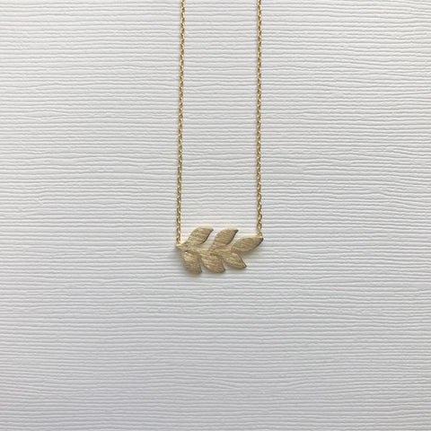 Laurel Leaf Necklace