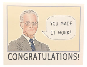 Seas And Peas Greeting Card - Tim Gunn Congratulations