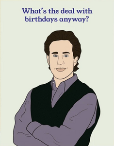 Jerry Birthday Greeting Card