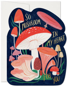 So Mushroom - Red Cap Greeting Card - Ottawa, Canada