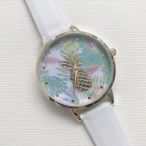 Kokomo Watch White - Milk - Ottawa Clothing & Accessories Shop